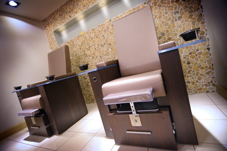 Changing Rooms, Aerobics Studio & Pedicure Suite, Ribby Hall Village